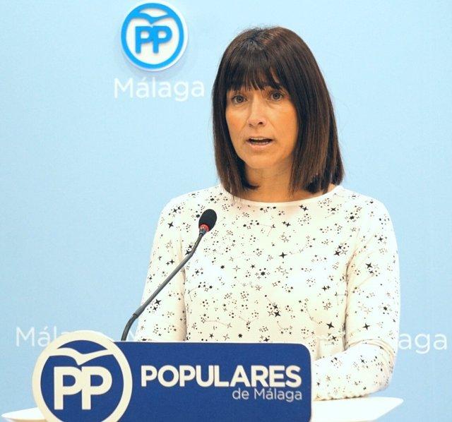 Ruth Sarabia en rueda de prensa