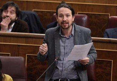 """Iglesias diu que la sentència del TC sobre la Lomce és """"una garrotada més"""" a la política educativa del Govern central (Europa Press)"""