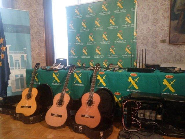 Guitarras intervenidas