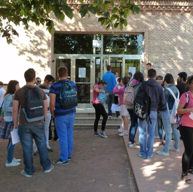 Estudiantes, clases, aulas, campus, universidad, universitarios