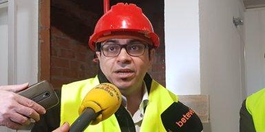 El primer bloc d'habitatge cooperatiu cedit per l'Ajuntament de Barcelona ultima obres (EUROPA PRESS)