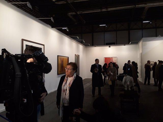 La galerista Helga de Alvear, que expone en ARCOmadrid