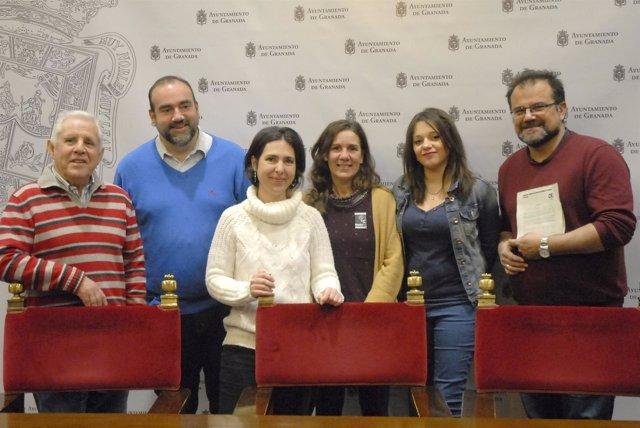 """Presentación de la moción para declarar Granada  """"territorio libre de CIE"""""""