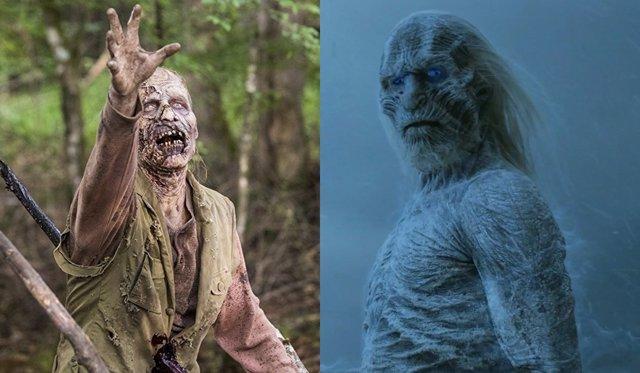 The Walking Dead y Juego de Tronos