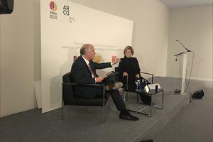 Fontanals-Cisneros donará parte de su colección a España, que será foco principal del arte latinoamericano en Europa