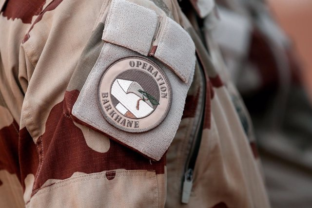 Miembro de la operación francesa Barjane en el Sahel