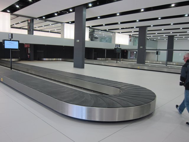 Recogida de equipaje del aeropuerto de Corvera