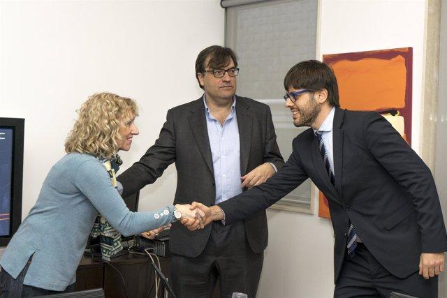 Díaz Tezanos se reúne con el director de Conceptual KLT