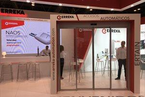 Matz-Erreka expone en Smart Doors 2018 novedades relativas al sistema E-link, Invertir y el emisor incopiable Iris-Evo