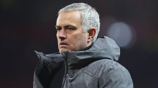 El entrenador del Manchester United, Jose Mourinho