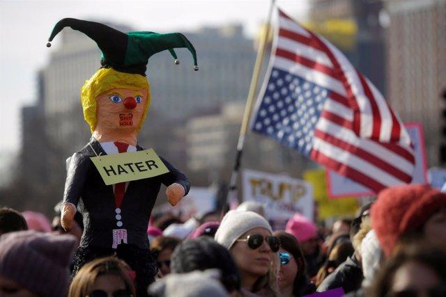 Marcha de las Mujeres en Chicago