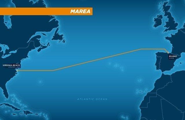 Facebook Microsoft Telxius marea cable submarino