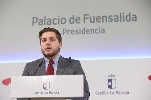 Nacho Hernando en rueda de prensa