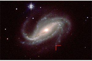 Un astrónomo aficionado de Argentina caza la primera imagen de un estallido estelar
