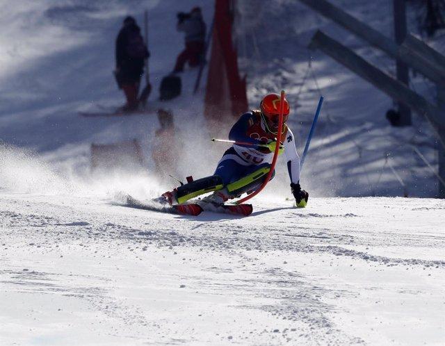 Quim Salarich compite en los Juegos Olímpicos