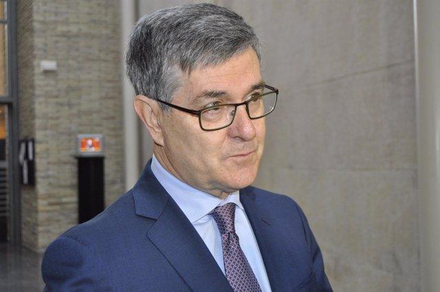 El consejero de Presidencia Vicente Guillén