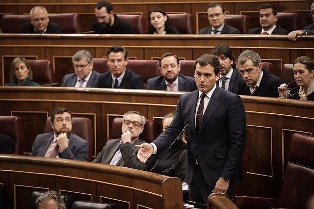 Grupo parlamentario de Ciudadanos en el Congreso