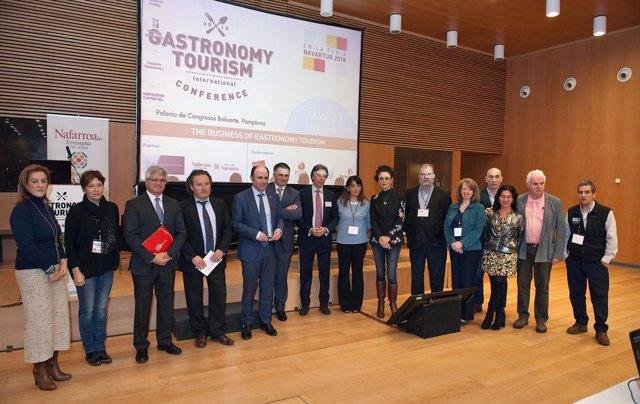 Manu Ayerdi, en el Congreso Internacional de Turismo Gastronómico.