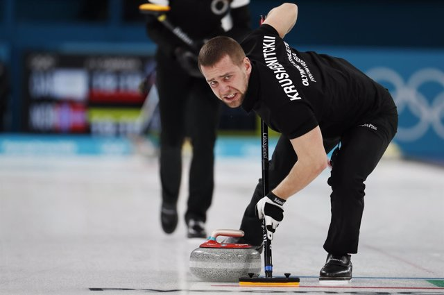 Alexander Krushelnitsky en los Juegos de Pyeongchang 2018