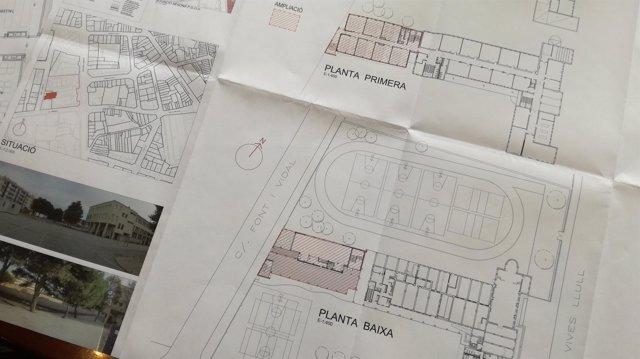 Obras de ampliación instituto de Menorca