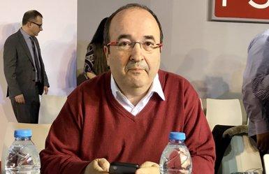 """Iceta demana a l'independentisme """"mirada llarga"""" i descarta Puigdemont com a president (EUROPA PRESS)"""