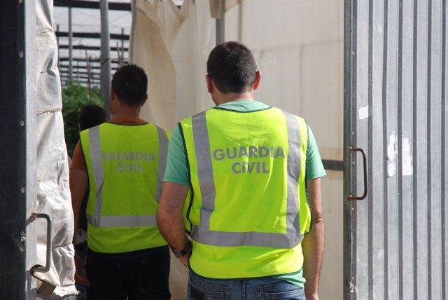 Agentes de la Guardia Civil en imagen de archivo