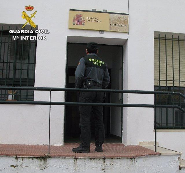 Cuartel de la Guardia Civil de Cartaya.
