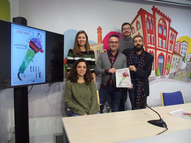 Presentación Open Mic de Logroño
