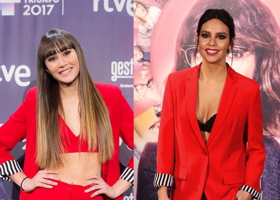Aitana Ocaña y Cristina Pedroche
