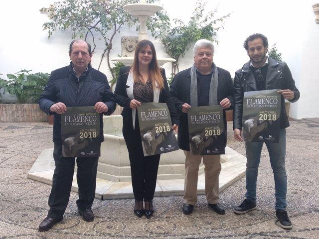 Barbero presenta  el VI Circuito Provincial de 'Flamenco en nuestros pueblos'