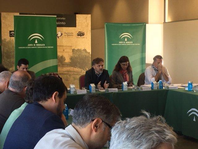 Celebración del Consejo Andaluz de Medio Ambiente