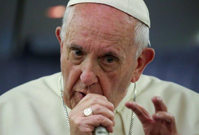 El Papa Francisco interviene en una reciente conferencia