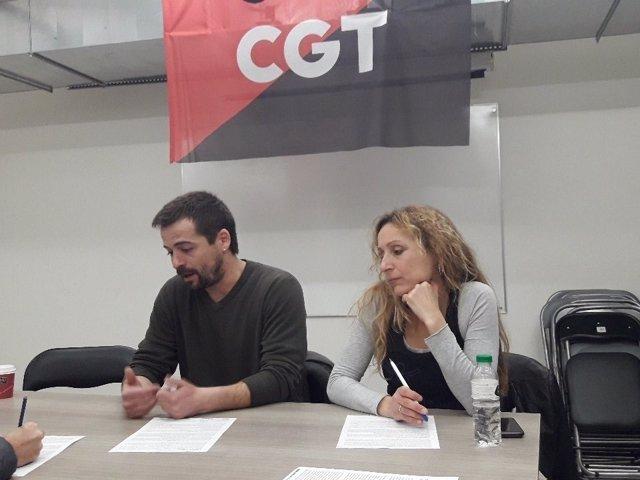 P.Mercadé y L.Molina, CGT