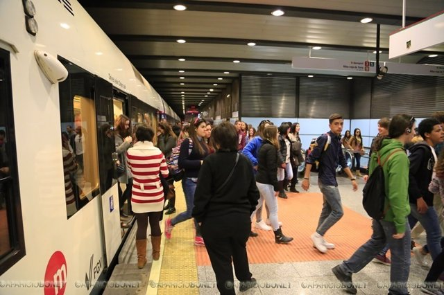 Metrovalencia inicia el sábado los servicios especiales de Fallas