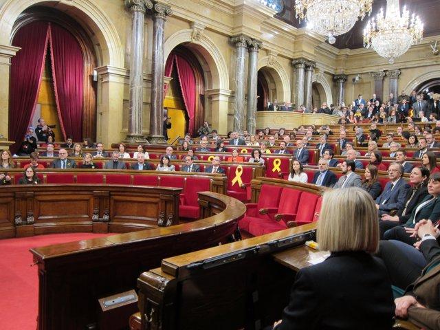 Ple de constitució del Parlament de la XII Legislatura