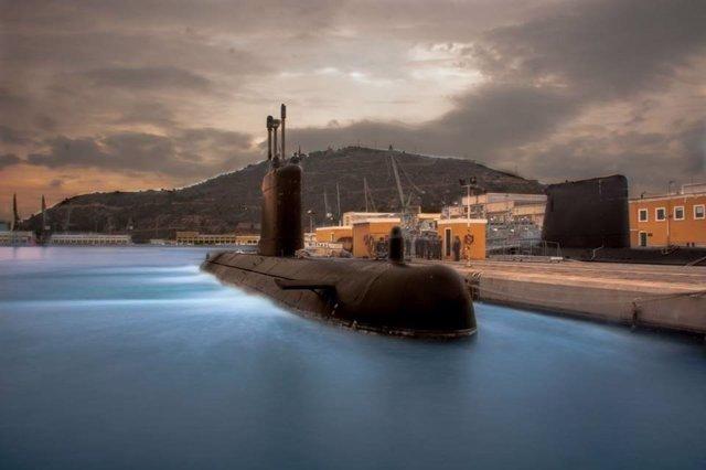 Submarino de la Armada española 'Mistral' que combatirá el terrorismo