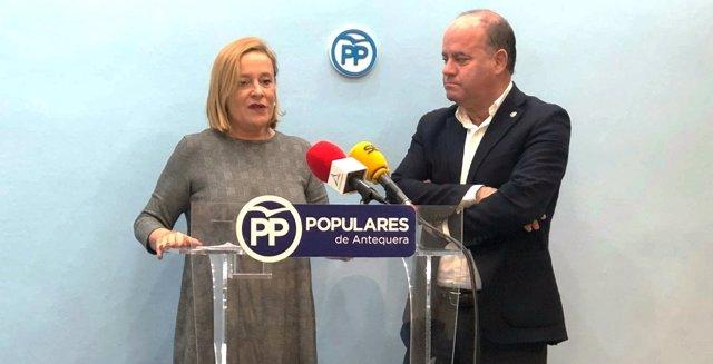 Mariví Romero y Manuel Barón