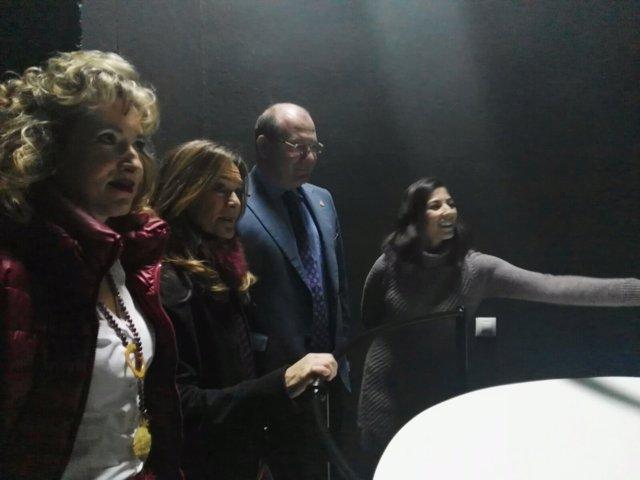 Inauguración de la Cámara Oscura de Jaén