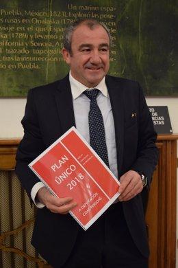 El presidente de la Diputación de Lugo, Darío Campos