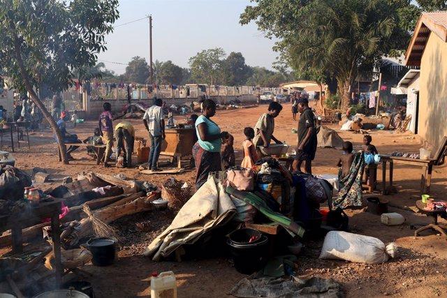 Desplazados por la violencia en República Centroafricana (archivo)