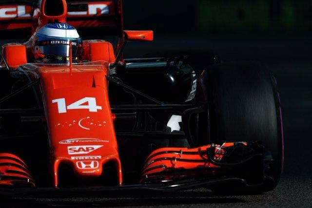 Fernando Alonso Abu Dhabi Dabi