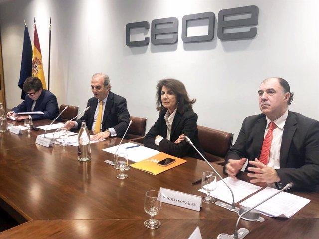 Carmen Planas, CEOE