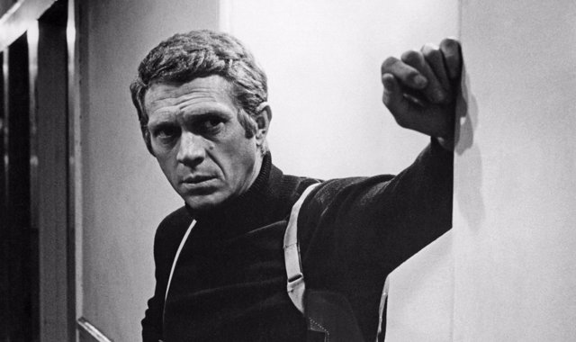 "Steve McQueen in ""Bullitt""1968Photo by Mel Traxel** I.V."