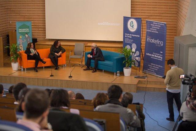 Jornada sobre tecnología y marketing celebrada en Sevilla