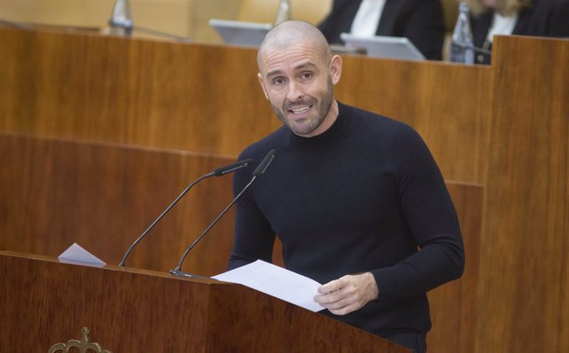 El consejero de Cultura, Turismo y Deportes, Jaime de los Santos.