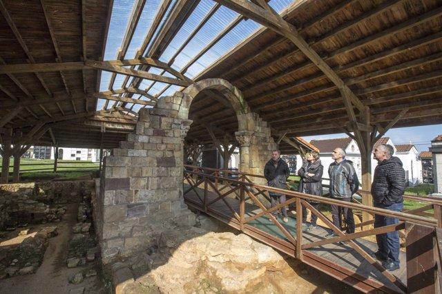Rehabilitación de la cubierta de las termas romanas