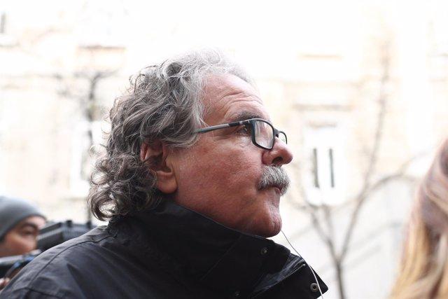Joan Tardà, a las puertas de la Audiencia Nacional