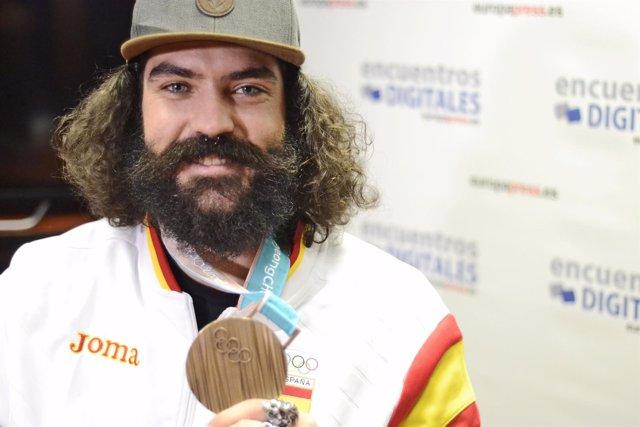 Regino Hernández, bronce en snowboard en los JJOO de invierno