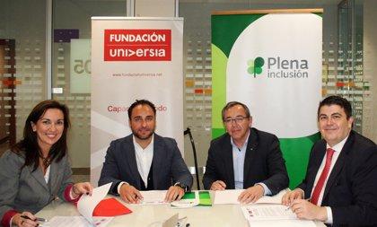 Banco Santander, Fundación Universia y Plena Inclusión se unen por la inclusión laboral de personas con discapacidad