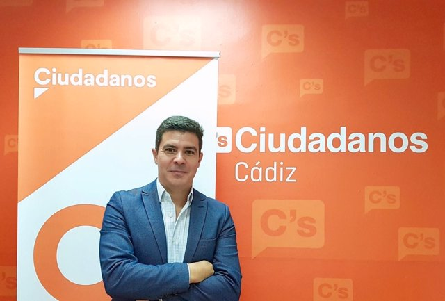 El parlamentario de Ciudadanos, Sergio Romero